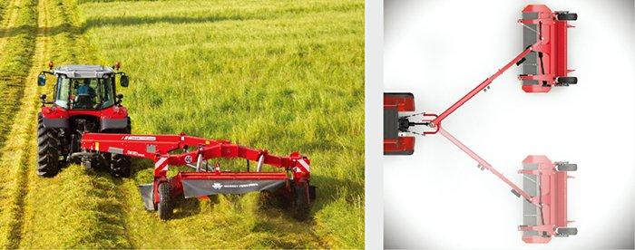 麥賽福格森MF DM357牽引式圓盤割草壓扁機