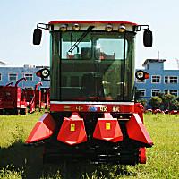 新三王4YZ-3B玉米聯合收獲機