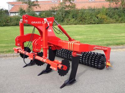 丹麥禾沃Grass-Tiller草地深松機