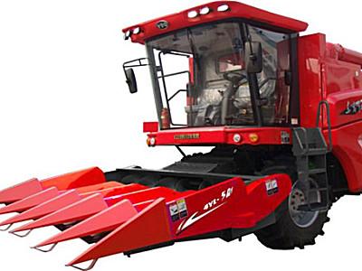东方红4YL-5A1/5A2自走式玉米籽粒联合收获机