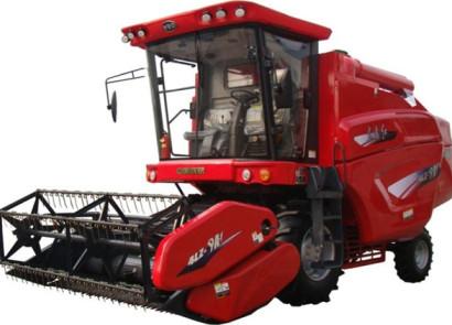 東方紅4LZ-9A1/9A2自走輪式谷物聯合收割機(單縱軸流)