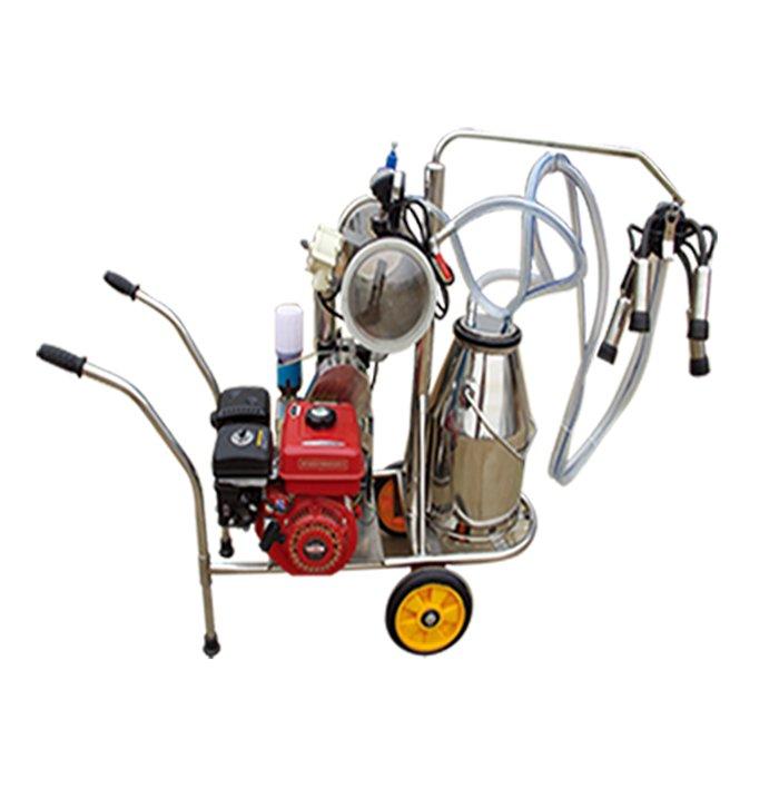 1.XD32Q型汽油和電動雙動力奶牛擠奶機