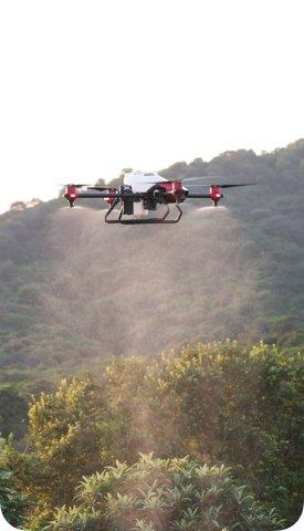 XP農業無人機自動化噴灑