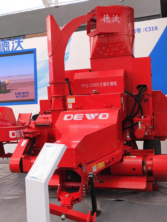 黑龙江德沃9YQ-2200Y方捆打捆机