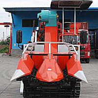 隆泰4YZLP-2玉米收獲機