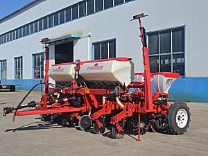 山东亚沃2BQMJF-6牵引式免耕施肥播种机