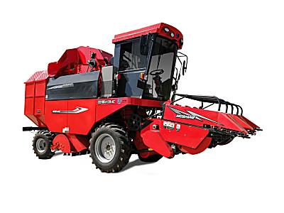 牧神4YZB-4C/4CS型自走式玉米收获机