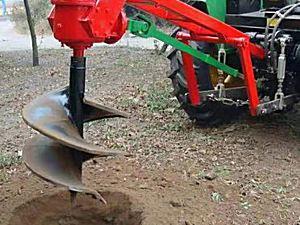 绿创机械1W-30挖坑机
