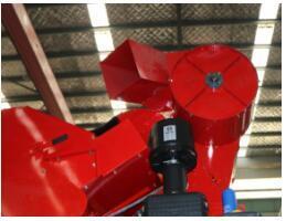 东方红4YZ-3D1自走式玉米收获机排风机