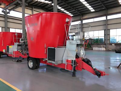華昌機械立式飼料攪拌機