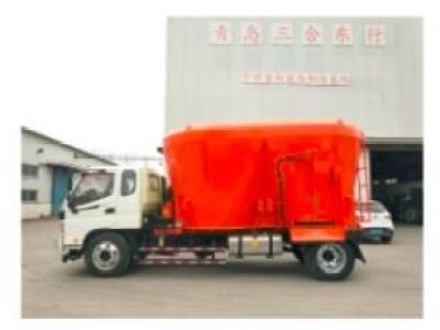 青島三合9JL-2022C車載式TMR飼料攪拌機