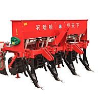 農哈哈2BMSQFY-4免耕施肥精播機