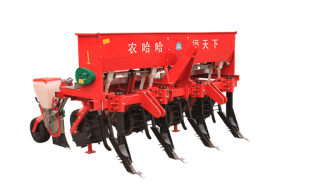 河北農哈哈2BMSQFY-4玉米免耕深松全層施肥精播機