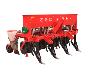 河北农哈哈2BMSQFY-4玉米免耕深松全层施肥精播机