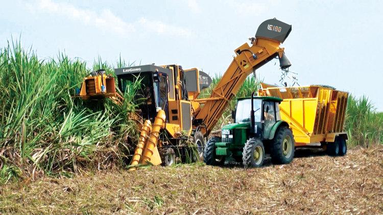 柳工S935甘蔗收獲機