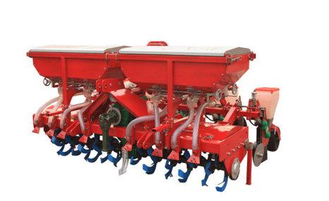 河北農哈哈2BFGY-5(8)(230)玉米旋耕施肥播種機