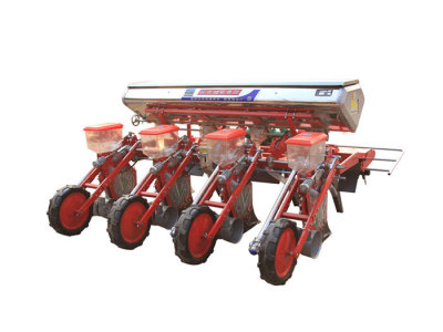 河北農哈哈2BYFSF-4動力防纏玉米免耕施肥播種機
