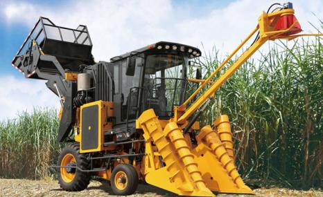 柳工S718切段式甘蔗收獲機
