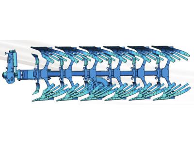 沃隆1LYFT-650型岸上液压翻转调幅犁