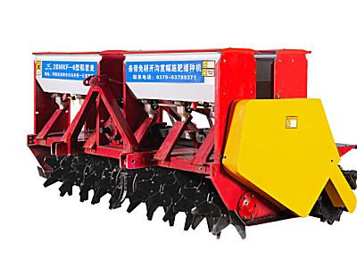 鑫乐兴隆2BMKF-6稻茬麦条带免耕开沟宽幅施肥播种机