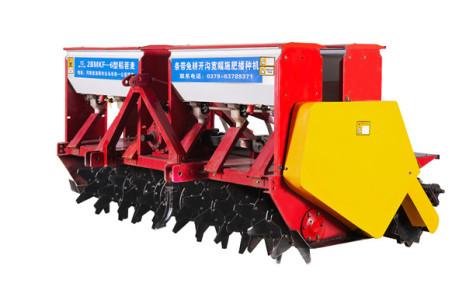 鑫樂興隆2BMKF-6稻茬麥條帶免耕開溝寬幅施肥播種機