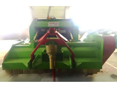 山东汉维斯9YQ-1800圆草捆打捆机
