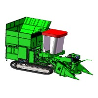 中农机履带式灌木联合收获机
