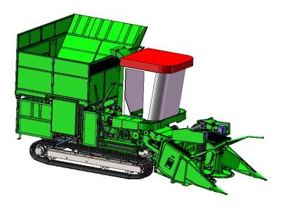 中農機履帶式灌木聯合收獲機