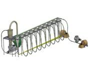 中農機無熱源氣流旋風干燥系統