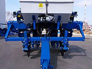 吉林大元2BMZF-2免耕指夹式精量施肥播种机
