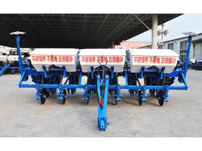 吉林大元2BMZF-6免耕指夹式精量施肥播种机