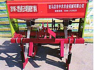 驻马店中农2BYMF-2免耕玉米精量施肥穴播机