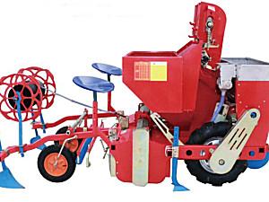 青岛方正2CM-2大垄双行马铃薯种植机
