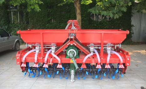 農哈哈2BFG-16小麥旋耕播種機