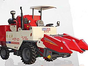 金大丰4YZP-2D自走式玉米收获机