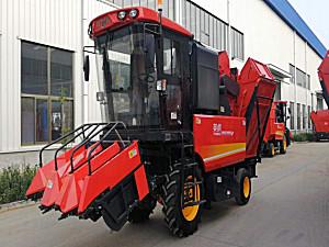 河北英虎4YZB-3B型自走式玉米收获机