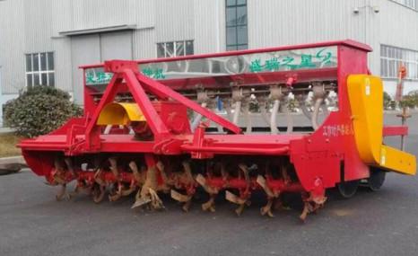 濰坊盛瑞2BFG-12(8)(230)型旋耕施肥播種機