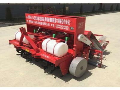 定西三牛2MBFG-2-4型玉米双垄沟旋耕施肥喷药铺膜精量穴播联合作业机