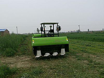 鑫农9G-2.1型自走式旋转割草压扁机