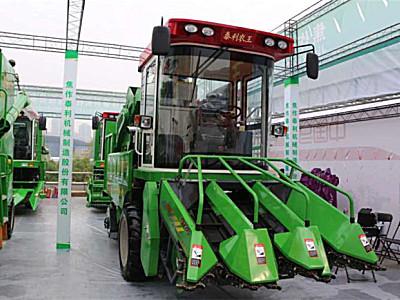 泰利农王4YZ-3自走式玉米联合收割机