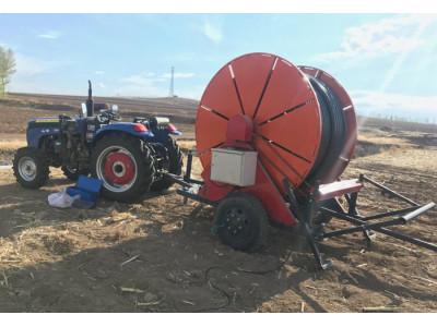 烏蘭浩特興安嶺8PD-13×300型自走式多功能噴灌機