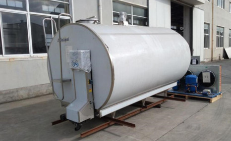 利拉伐9GRW-6直冷封閉式牛奶冷藏罐
