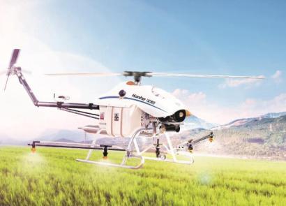 漢和CD-15油動單旋翼植保無人機
