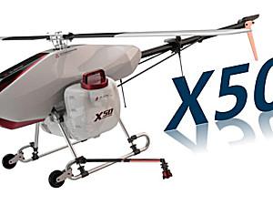 无距X50农业植保无人直升机