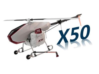 無距X50農業植保無人直升機