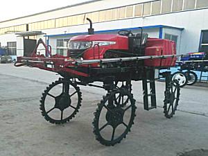 潍坊谷沃3WPZ-700GL自走式喷杆喷雾机