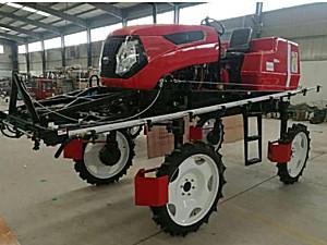 青州万佳3WPZ-700L自走式水旱两用喷杆喷雾机