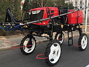 天津圣弘3WPZ-700型自走式喷杆喷雾机