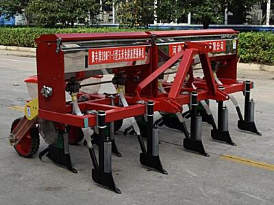 河南豪豐2BMFY-5玉米免耕施肥精量播種機