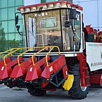 豪豐4YZ-4B玉米收獲機
